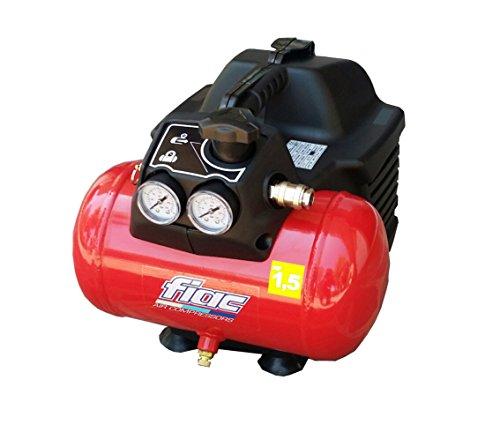 Compressore d'aria Fiac Hobby EASY 1100 portatile con serbatoio 6 Lt con 0,3 Kw