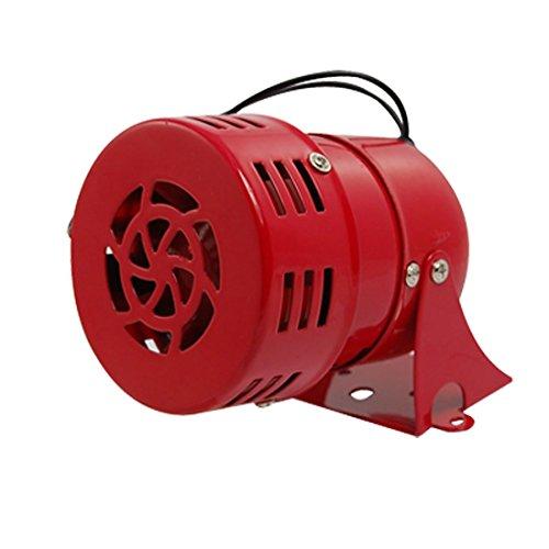 Cikuso AC 220V Rojo Metal Motor Impulsado Ataque Aereo de Sirena Cuerno de...