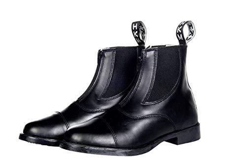 HKM 5033 buty z jodhpura, skóra bydlęca elastyczna wkładka zamek błyskawiczny, uniseks 39