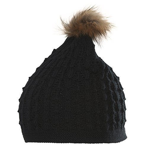 Chaos Bonnet pour Femme Olga, Black, One Size, 4171032337