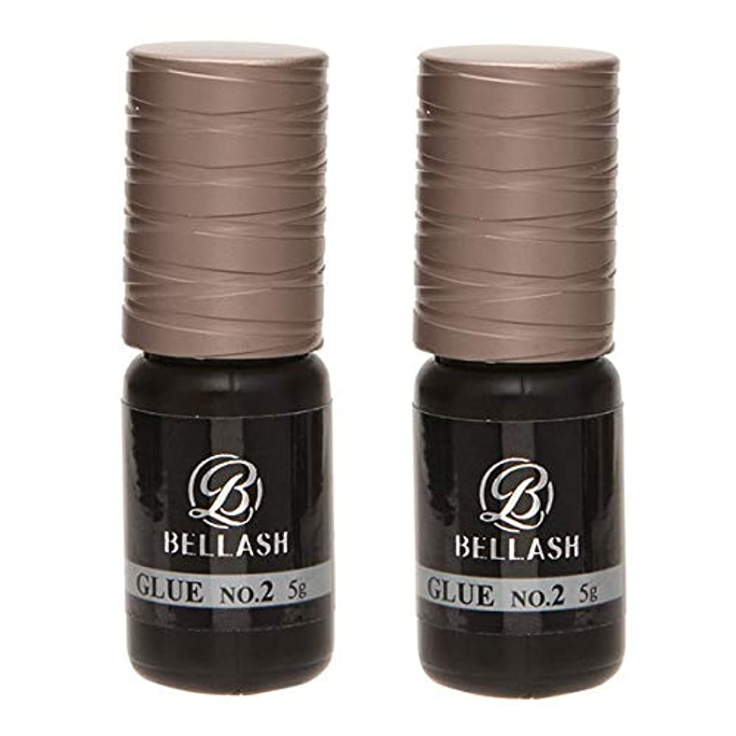 番号パラシュート思い出させるBELLASH グルー NO.2 5g (2個セット) [ まつ毛グルー マツエクグルー つけまつげ つけまつ毛 接着剤 高持続 速乾 まつげエクステ まつ毛エクステ マツエク エクステ まつげ まつ毛 業務用 ]