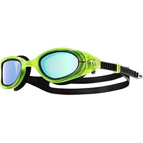 TYR Special Ops 3.0 - Gafas polarizadas Unisex (Talla única), Color Verde y Amarillo Fluorescente