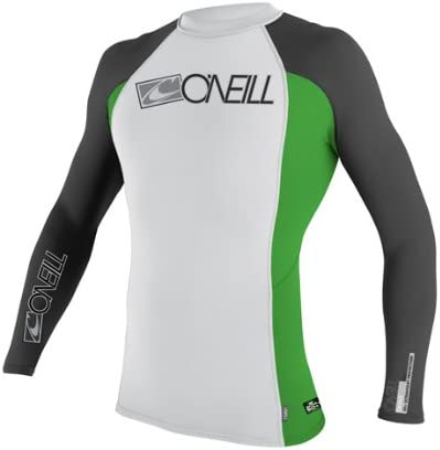 O'Neill Skins Long Sleeve Crew (White)