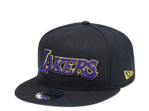 New Era Los Angeles Lakers Blackteam Edition 9Fifty - Gorra de baloncesto (Varios)