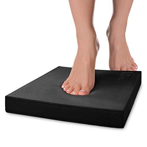 Yes4All BAAW Balance Pad – Exercise Foam Cushion, Large, Black