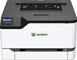 Lexmark C3224DW Farblaser (WLAN, LAN, bis zu 22 S./Min., autom. beidseitiger Druck) schwarz/grau