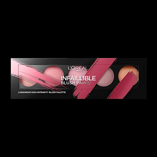L'Oréal Paris Infaillible Paint Palette Viso Blush, 02 Ambers