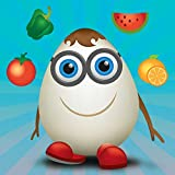 Learn Fruits and Vegetables with Carakuato, educational game for kids, toddlers and babies