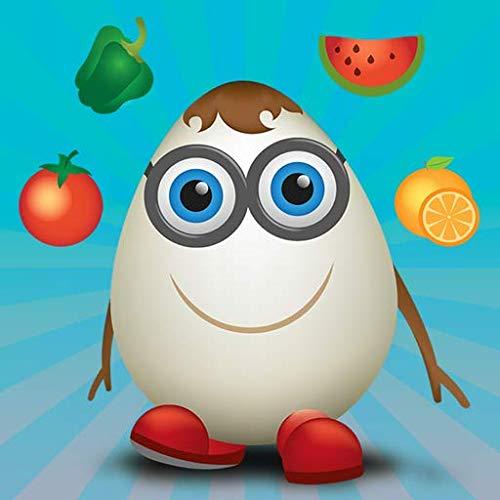 Lernen Sie Obst und Gemüse mit Carakuato, dem Lernspiel für Kinder und Kleinkinder
