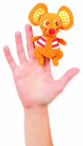 Manhattan Toy Marionnette à Doigt - Mason Mouse