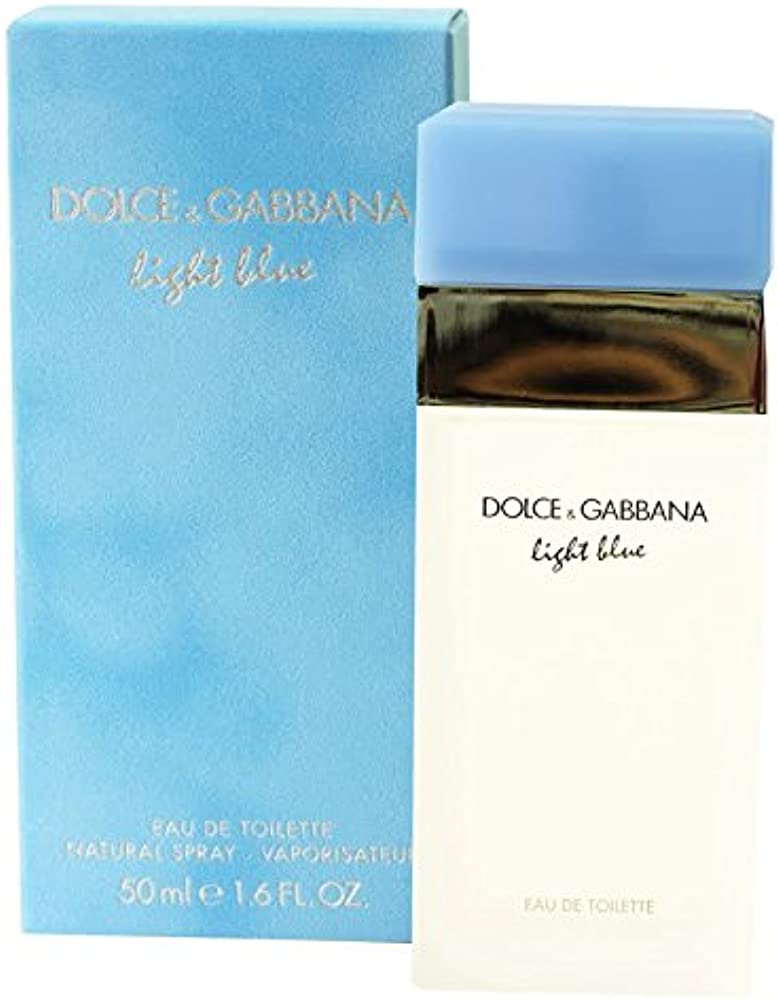 Dolce & gabbana, light blue, eau de toilette da donna, 50 ml 122232