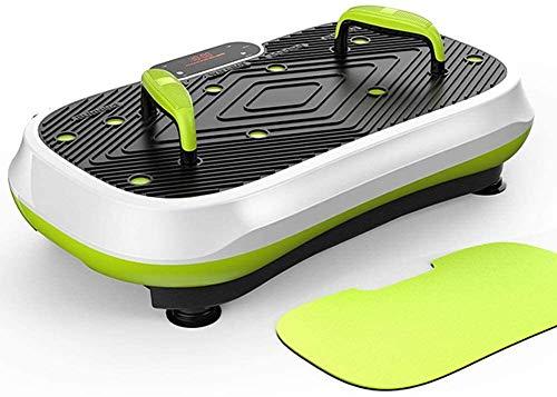 Plataforma Vibratoria Ultra Slim Vibratoria Máquinas de ejercicios, entrenamiento de todo el cuerpo completo de la máquina Plataforma de fitness con Bult-en altavoces USB for el hogar de fitness y pér