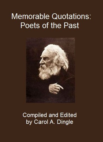 Memorable Quotations: Poets of the Past