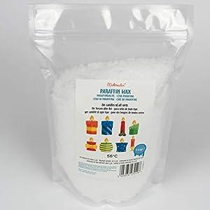 Materialix Cera de parafina para velas - varios tamaños (1kg)