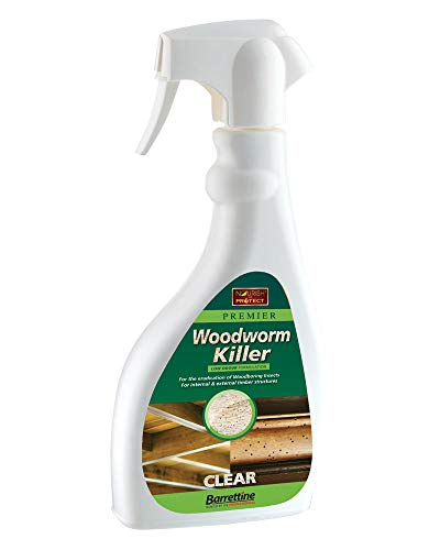 Nourish & Protect SPWW.50 500 ml Solvent Preserver Woodworm Killer Trigger Spray, Clear