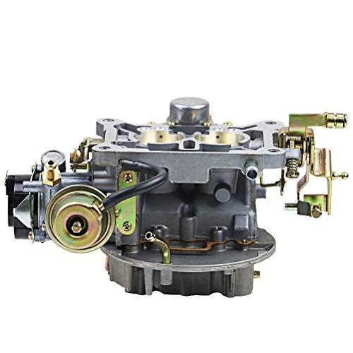 Ersatzteile für Motorräder, New Vergaser Zwei 2 Barrel Carburetor Carb 2100 2150 for Ford 289 302 351 Cu Jeep Motor mit Elektro Choke