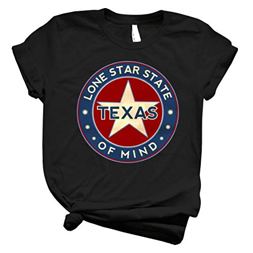 Texas Lone Star Sticker Circle - Mens T Shirts Graphic Vintage – Best Trendy Womens Customize for Kids