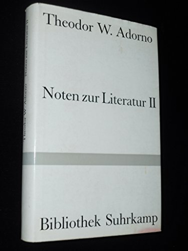 Noten zur Literatur 2
