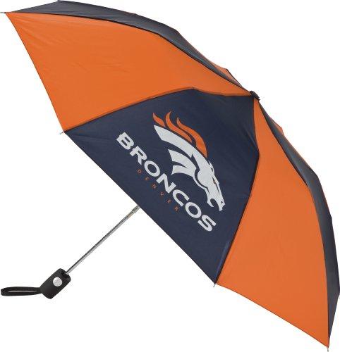 NFL Auto Folding Umbrella Denver Broncos