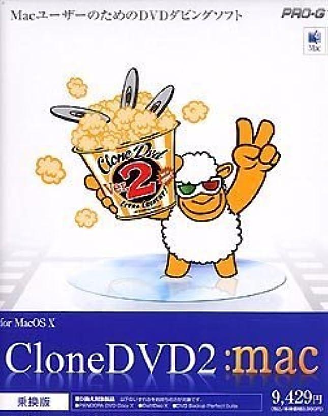 スリチンモイ理想的にはに向かってCloneDVD 2 for MacOS X 乗換版