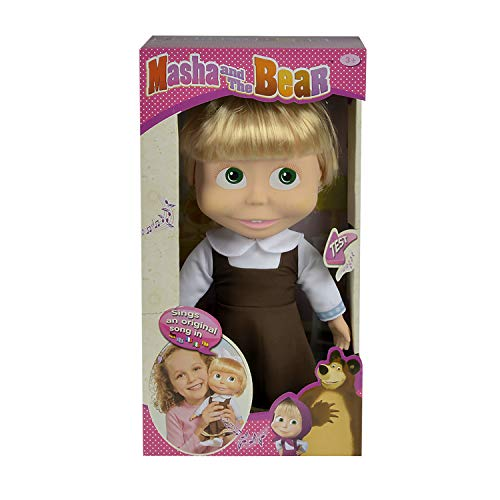 Muñeca cantarina de Masha y el Oso de 30cm con sonido (Simba 9306516)