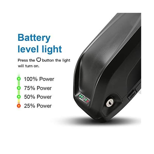 41nX5VOGl7L. SS600  - YOSE POWER Ebike Batterie 48V 12.5Ah Elektro-Fahrrad Akku Hailong passt auf Down Tube für VAUN MiFa Prophete Phylion Pedelec