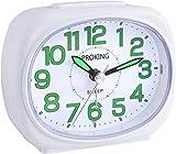 Réveil de Voyage Table de Chevet Silencieux Horloge Alarme Veilleuse Fonctions Snooze Usage...