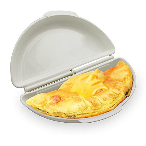 YDTX Cuoci Uova Sode,2 Pezzi Fornello per Uova a microonde, frittata per bracconiere, Utensili da Cucina, pentole per Uova da Colazione Facili da Usare e antiaderenti