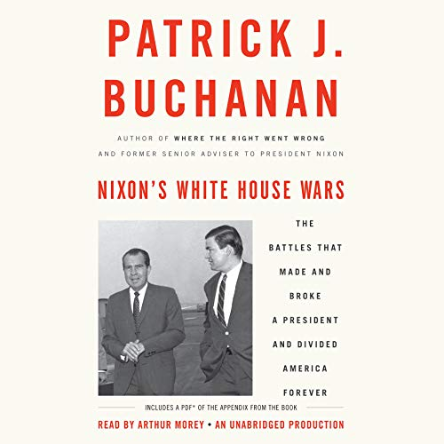 Couverture de Nixon's White House Wars