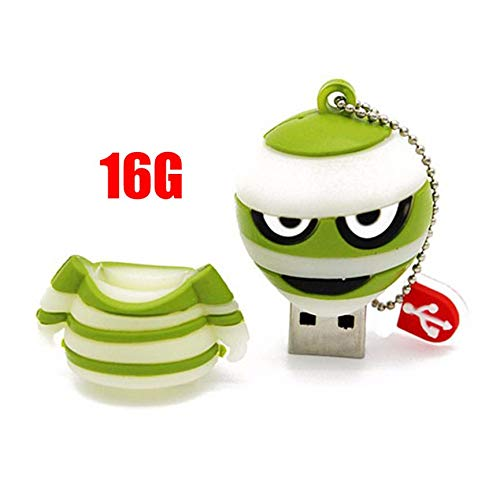 Peanutaoc grün Corpse Cartoon Alien USB-Flash-Laufwerke Creative-Memory Stick