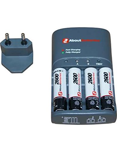 Ladegeräte für AIPTEK POCKET DV T100, 1.2V, 2600mAh, Ni-MH