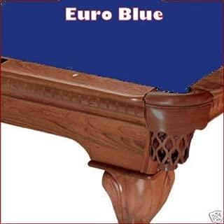 8' Euro Blue ProLine Classic 303 Teflon Billiard Pool Table Cloth Felt