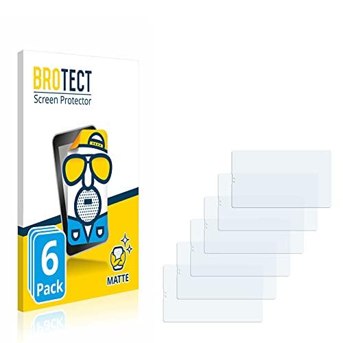 BROTECT Protector Pantalla Anti-Reflejos Compatible con Samsung Galaxy Tab A7 Lite LTE 2021 (Formato Apaisado) (6 Unidades) Película Mate