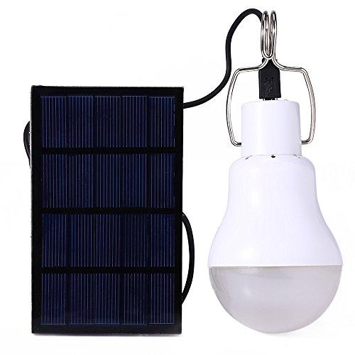 Yihome - Lampe LED portable à énergie solaire 130lm