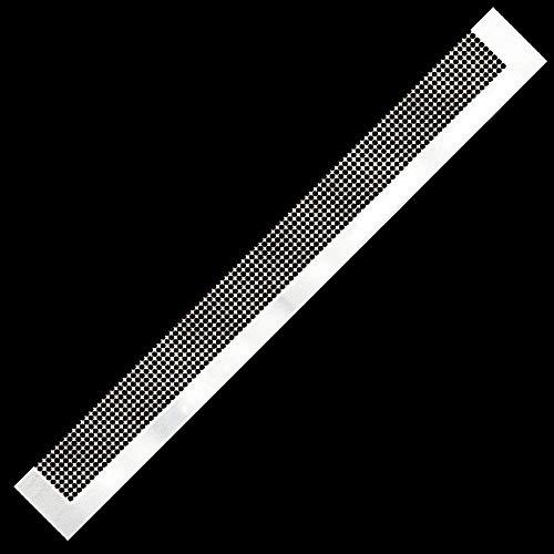 Diamant-Malwerkzeug Edelstahl-Lineal Diamant-Ziehwerkzeug mit 50 Rastern 30 cm für Diamant-Malarbeiten Runder Vollbohrer & Teilbohrer
