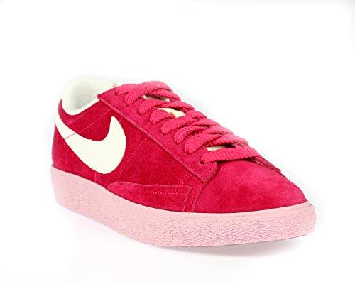 Nike Wmns Blazer Low Suede VNTG 517371-604 Fucsia - Sneaker Bassa Donna (36 EU)
