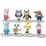 Animal Crossing figura de acción juguetes muñecas set PVC modelo Cake Toppers (8PCS)