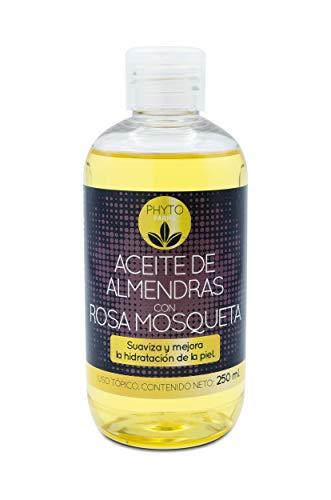 PHYTOFARMA - Aceite De Almendras + Rosa Mosqueta, Almond, 250 Mililitro