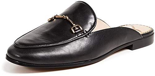 Sam Edelman Women's Linnie Mule Black Leather 8 Medium US