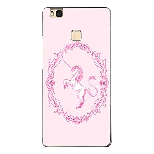 DISAGU SF de SDI de 4610_ 1127# zub- cc6496Diseño Carcasa para Huawei P9Lite–Diseño clásico Unicornio Rosa