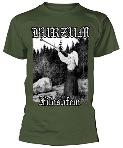 Burzum 'Filosofem' (Green) T-Shirt (Medium)