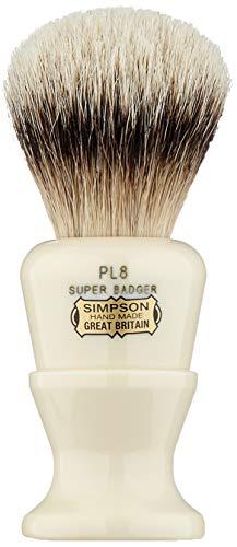 """Simpsons """"Polo PL8"""" tejón Super Badger con nudo de 24mm y mango de resina"""