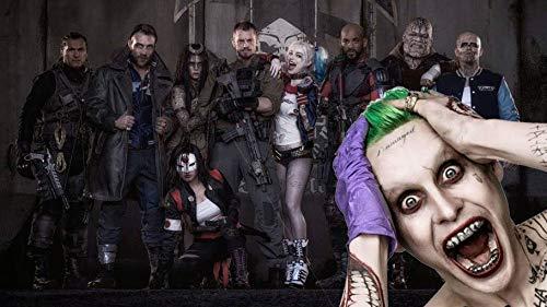 Puzzle 1000 Piezas Colección de Payasos de Personajes de películas de Harley Quinn en Juguetes y Juegos Educativo Divertido Juego Familiar para niños adultos50x75cm(20x30inch)