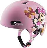ALPINA Hackney Disney, Caschi da Ciclismo Girls, Minnie Mouse, 47-51...