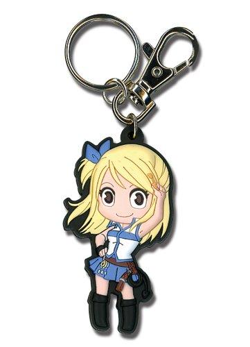 Great Eastern Entertainment Fairy Tail Lucy SD Porte-clés en PVC