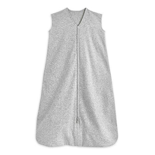 HALO® SleepSack® Baby Schlafsack, 0,5 TOG 100% Baumwolle, Grauer Schlafsack für Neugeborene, Tragbare Decke für mehr Sicherheit, Unisex für Jungen und Mädchen, 18-36 Monate