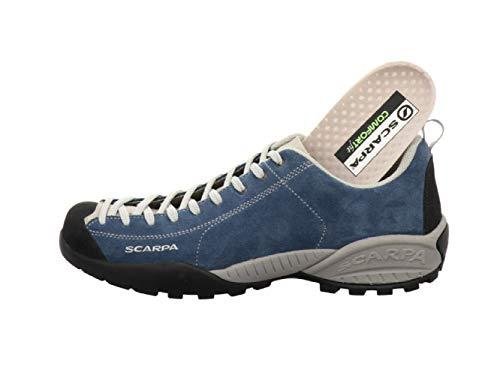 Scarpa Mojito, sportlicher Herren-Sneaker, Blau - ocean - Größe: 44 EU