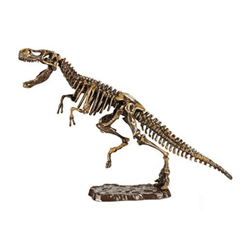 TOYANDONA Kit de Excavación de Fósiles de Dinosaurio para Niños Kit de Juguetes de Excavación de Tiranosaurio Rex Juego de Excavación de Dinosaurio Esqueleto 3D Juguetes de Ciencia de