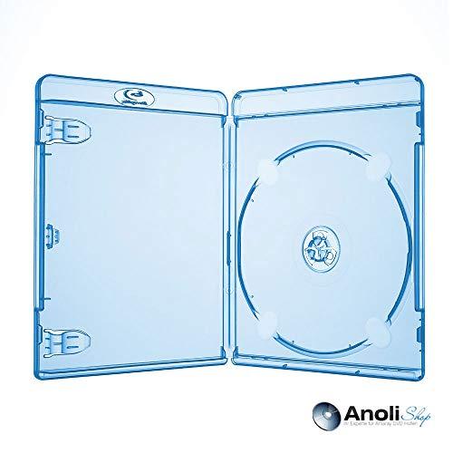 Blu Ray Hülle 11 mm für 1 Bluray DVD CD Disc Neuware 10 Hüllen ähnlich Amaray