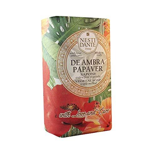 Nesti Dante De Ambra Papaver sabonete natural extra suave 250 g
